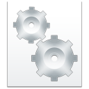 128x128px size png icon of filetype system