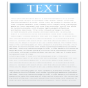 128x128px size png icon of filetype text