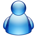 128x128px size png icon of misc buddy blue