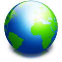 128x128px size png icon of system internet alt