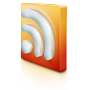 128x128px size png icon of rss