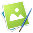 128x128px size png icon of Raster App