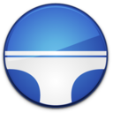 128x128px size png icon of Briefs Badge