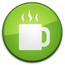 128x128px size png icon of Coffee Badge