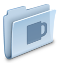 128x128px size png icon of Coffee Folder