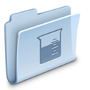 128x128px size png icon of Experiments Folder