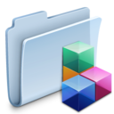 128x128px size png icon of Icon Folder Badged