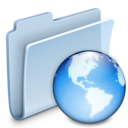 Network Folder Badged Icon