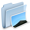 Pictures Folder Badged Icon
