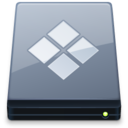 128x128px size png icon of BootCamp Disk
