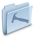 128x128px size png icon of Developer Folder