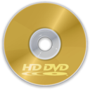 128x128px size png icon of HD DVD