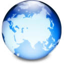 128x128px size png icon of Network Asia