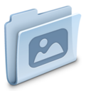 128x128px size png icon of Pictures Folder