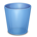 128x128px size png icon of Trash Empty