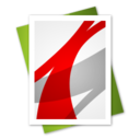 128x128px size png icon of Adobe Reader File