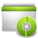 128x128px size png icon of CD Folder