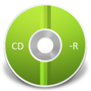 128x128px size png icon of CD R