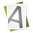 128x128px size png icon of Font File Alt