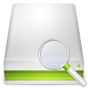 128x128px size png icon of Search Hard Disk