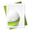 128x128px size png icon of Web File