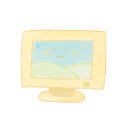128x128px size png icon of Computer