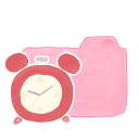 128x128px size png icon of Folder Candy Clock