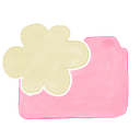 128x128px size png icon of Folder Candy Cloud