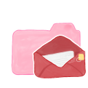 128x128px size png icon of Folder Candy Mail
