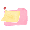 128x128px size png icon of Folder Candy Note