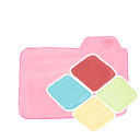 128x128px size png icon of Folder Candy Windows