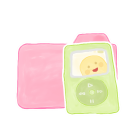 128x128px size png icon of Folder Candy iPod