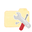 128x128px size png icon of Folder Vanilla Tools