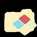 128x128px size png icon of Folder Vanilla Windows