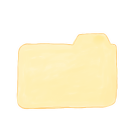 128x128px size png icon of Folder Vanilla