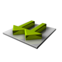 128x128px size png icon of Arrows Down