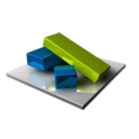 128x128px size png icon of Build Blocks