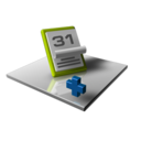 128x128px size png icon of Date Add