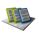 128x128px size png icon of Docs Important