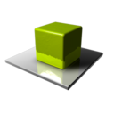 128x128px size png icon of Green Cube