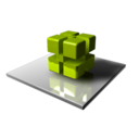 128x128px size png icon of Green Cubes