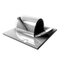128x128px size png icon of Mailbox Inactive