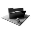 128x128px size png icon of Silver Folder Add