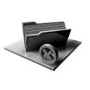 128x128px size png icon of Silver Folder Delete