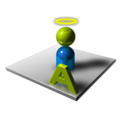 128x128px size png icon of User Admin