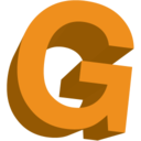 128x128px size png icon of Letter G
