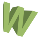 128x128px size png icon of Letter W