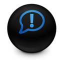 128x128px size png icon of Chat alt