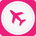 128x128px size png icon of airplane mode