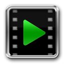 128x128px size png icon of Video Player